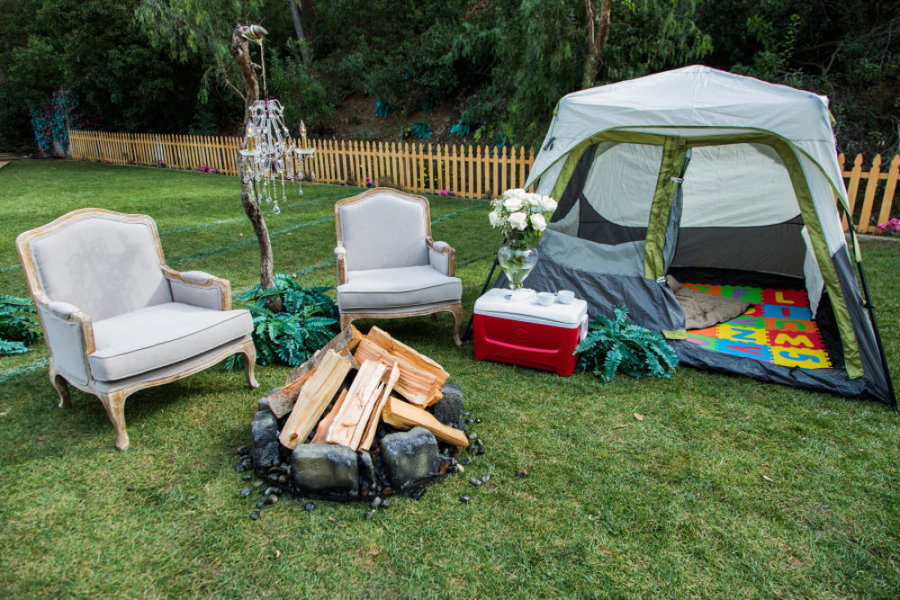 Diy glamping images galleries with a for Glamping ideas diy