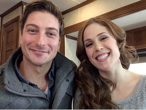 Erin krakow dating david rosenbaum