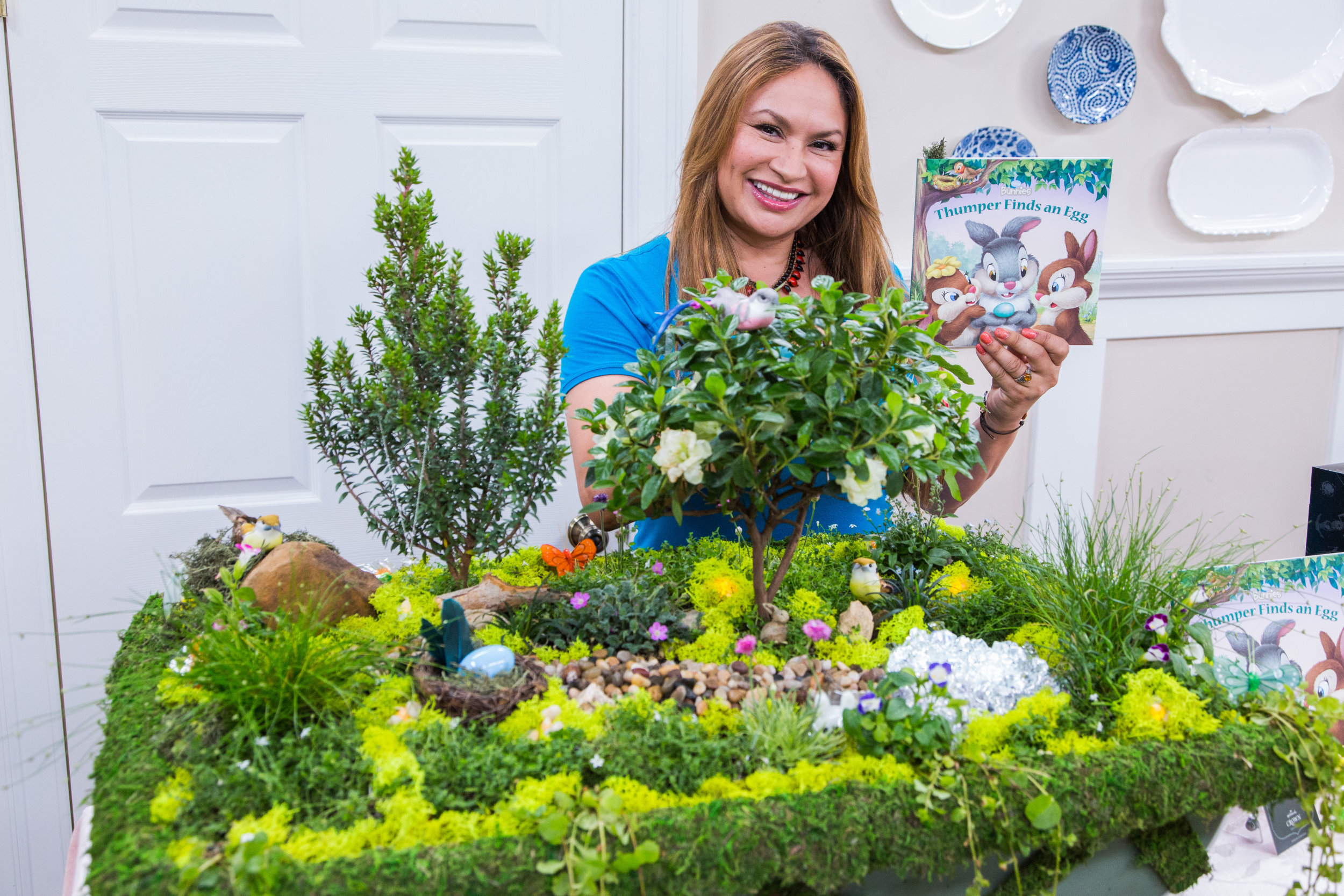 Do it yourself miniature easter garden video hallmark channel Home channel gardening