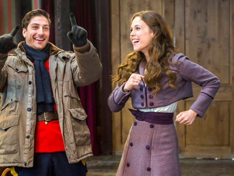 Erin krakow and daniel lissing dating in real life