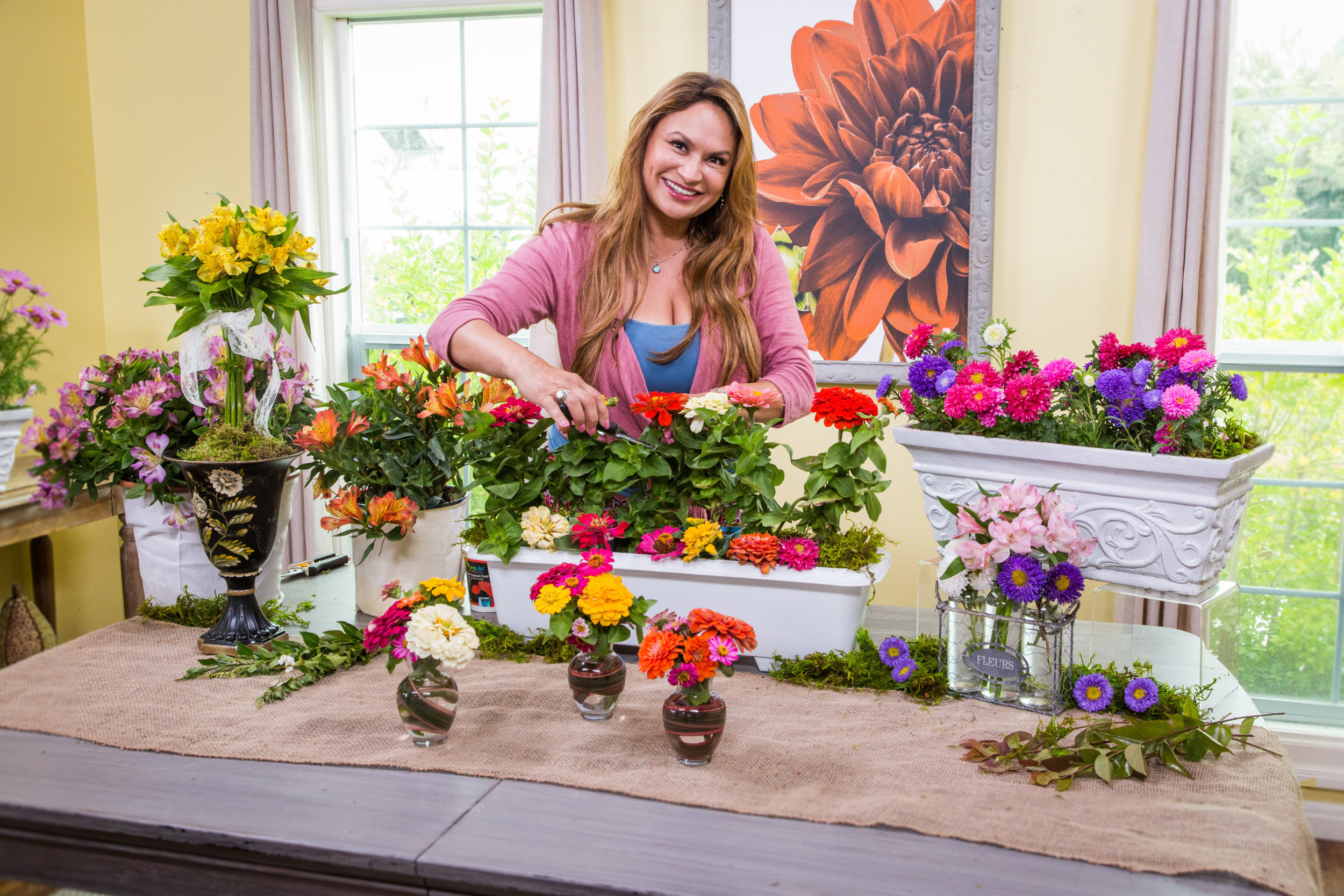 Do It Yourself Home Flower Cutting Garden Home Family