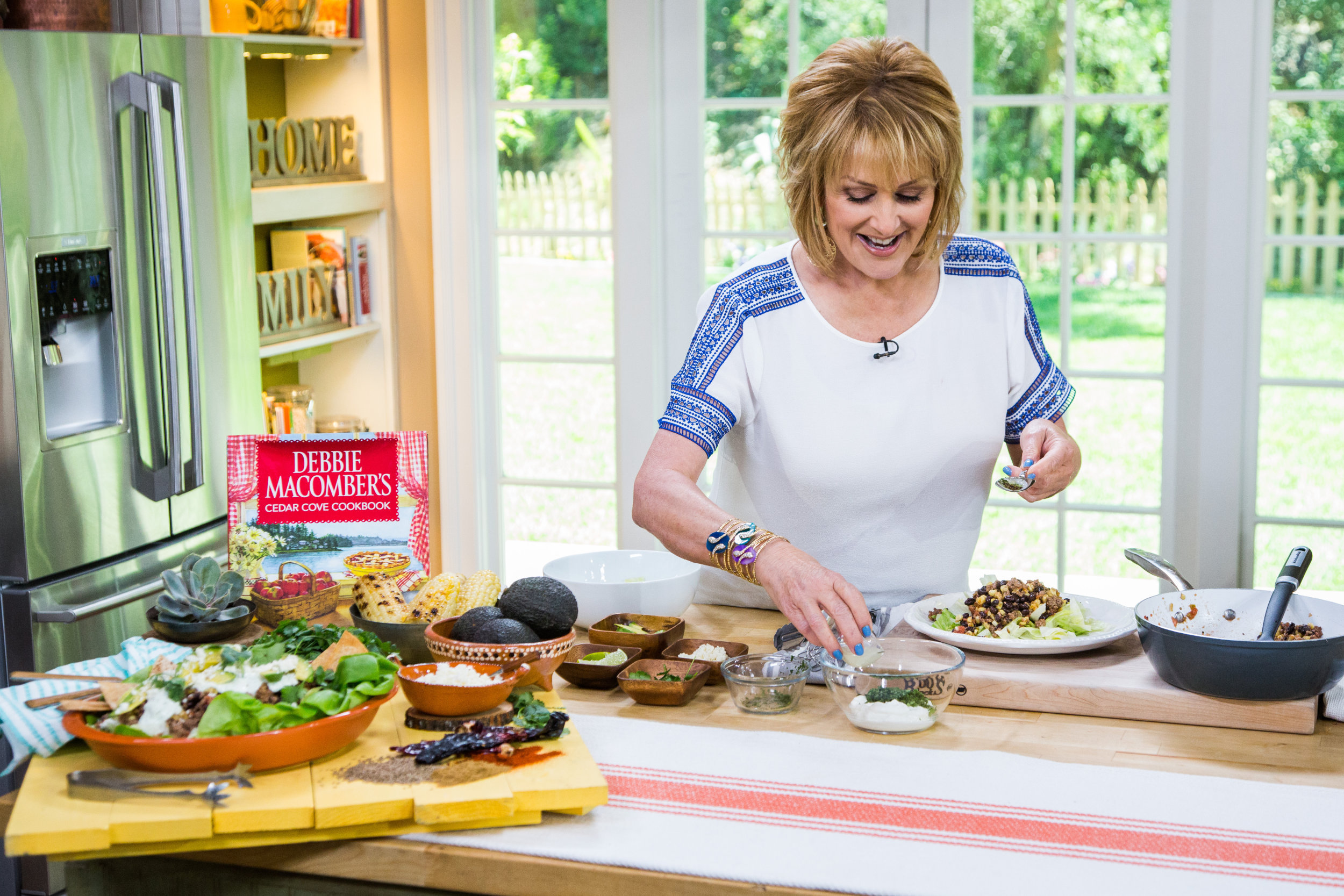 Hollywood steals home and family - Southwest Taco Salad Home Family