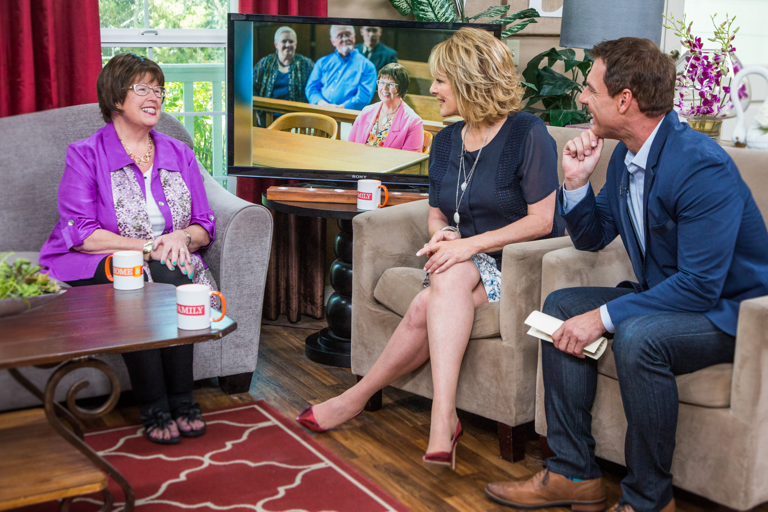 Hollywood steals home and family - Debbie Macomber Interview Home Family