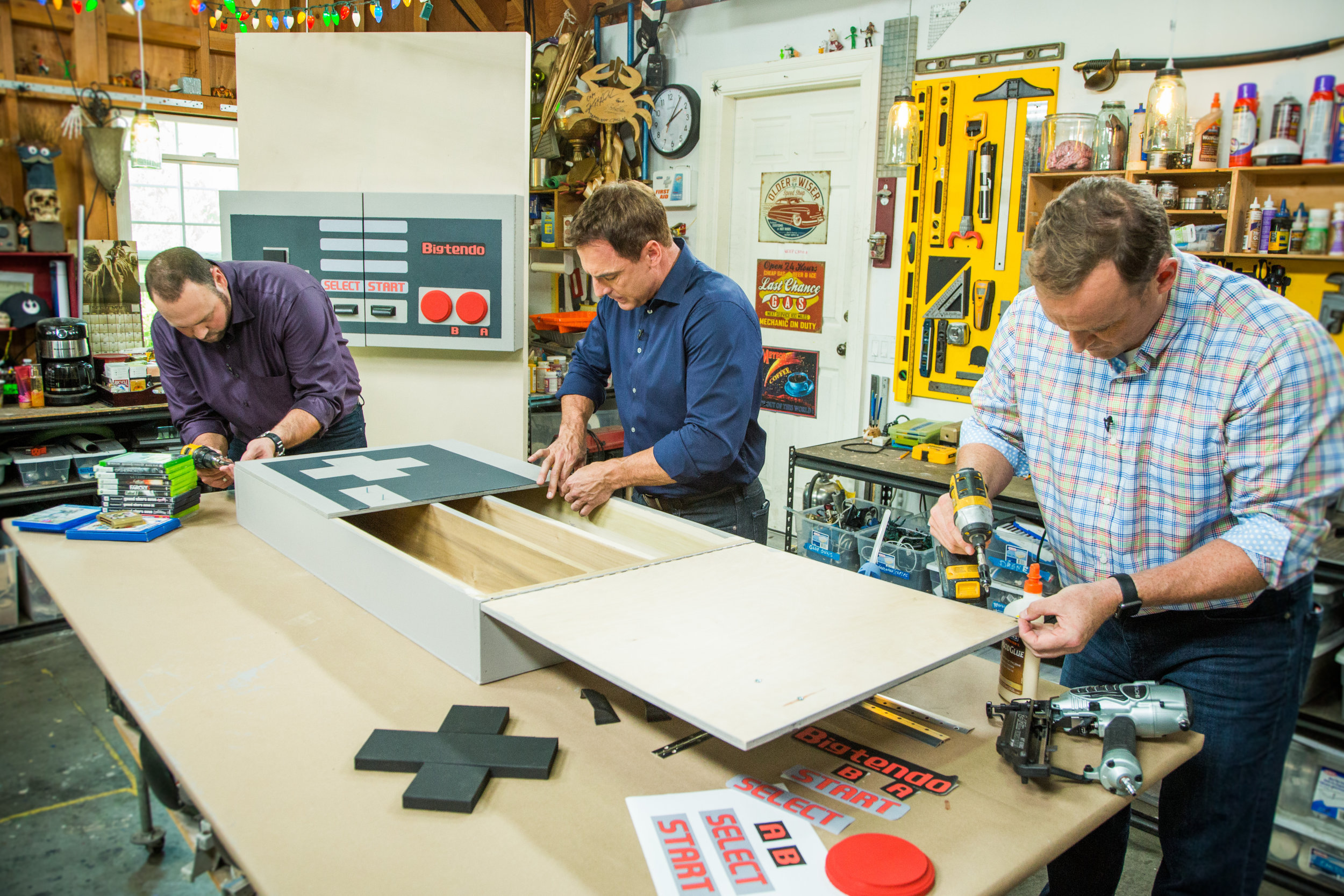 How To - DIY Video Game Cabinet | Home & Family | Hallmark Channel