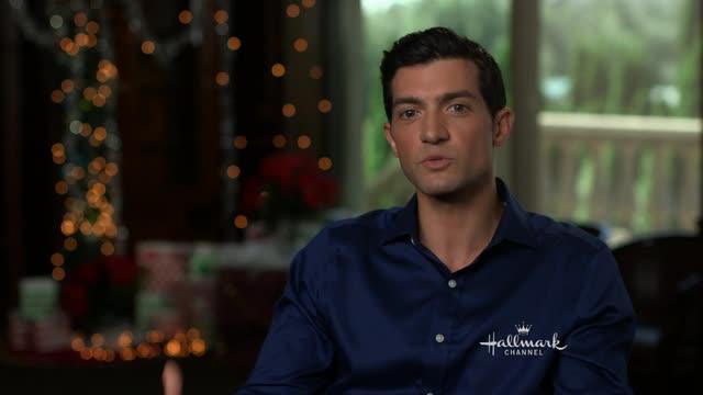 Interview - Ice Sculpture Christmas - David Alpay - on the movie ...