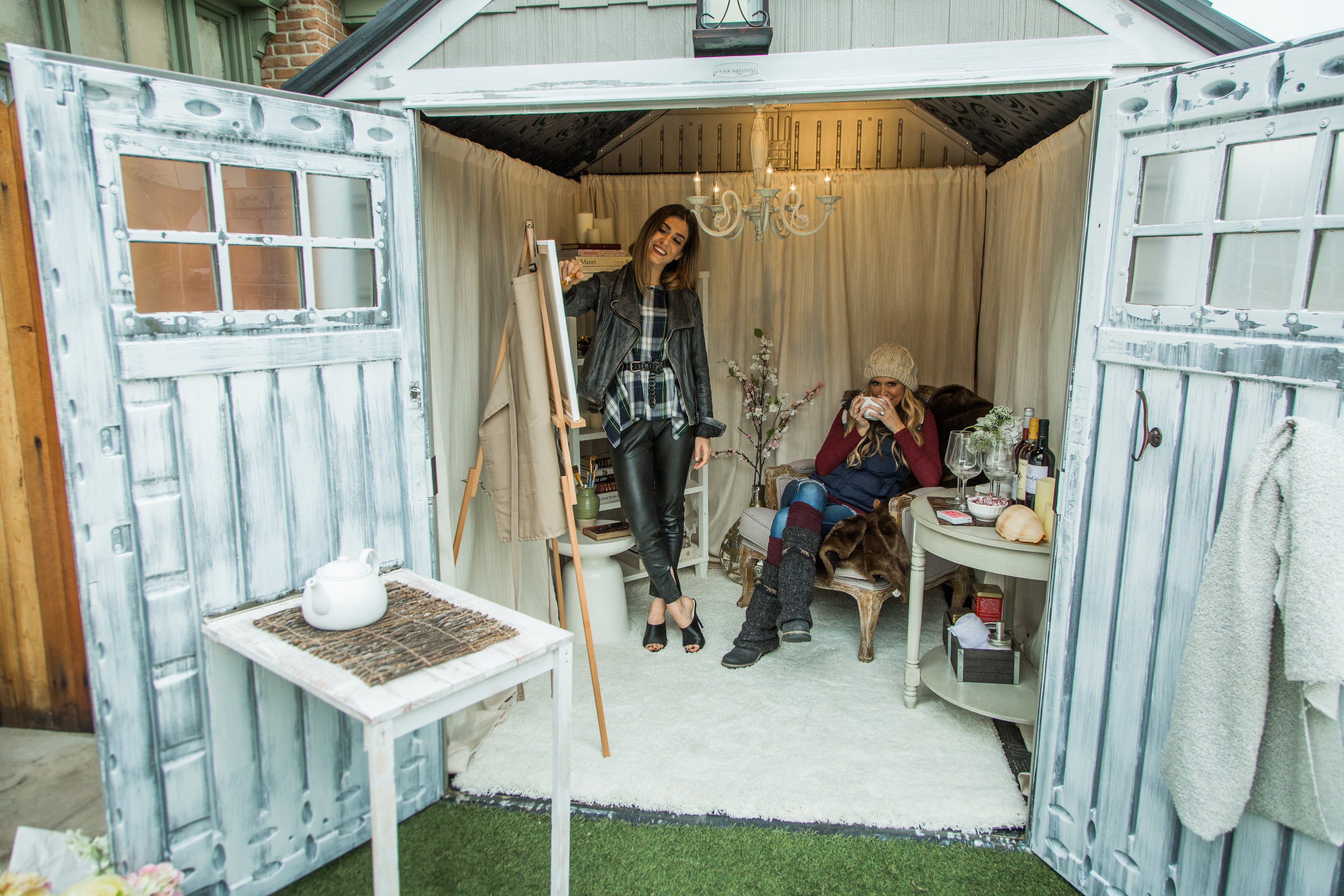 Preferred How To - Home & Family: DIY She-Shed | Hallmark Channel RX46