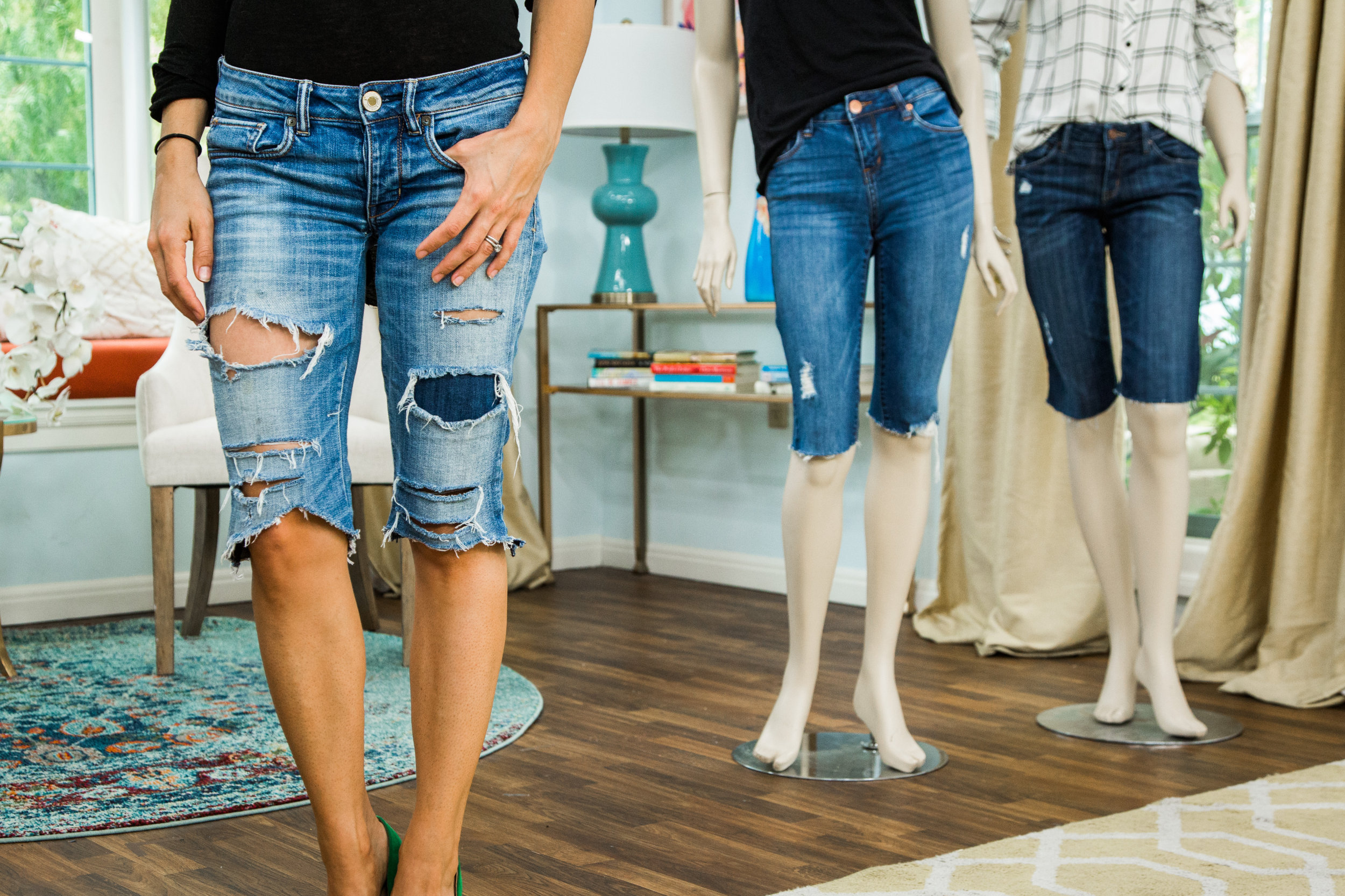 DIY Long Jean Shorts | Home & Family | Hallmark Channel