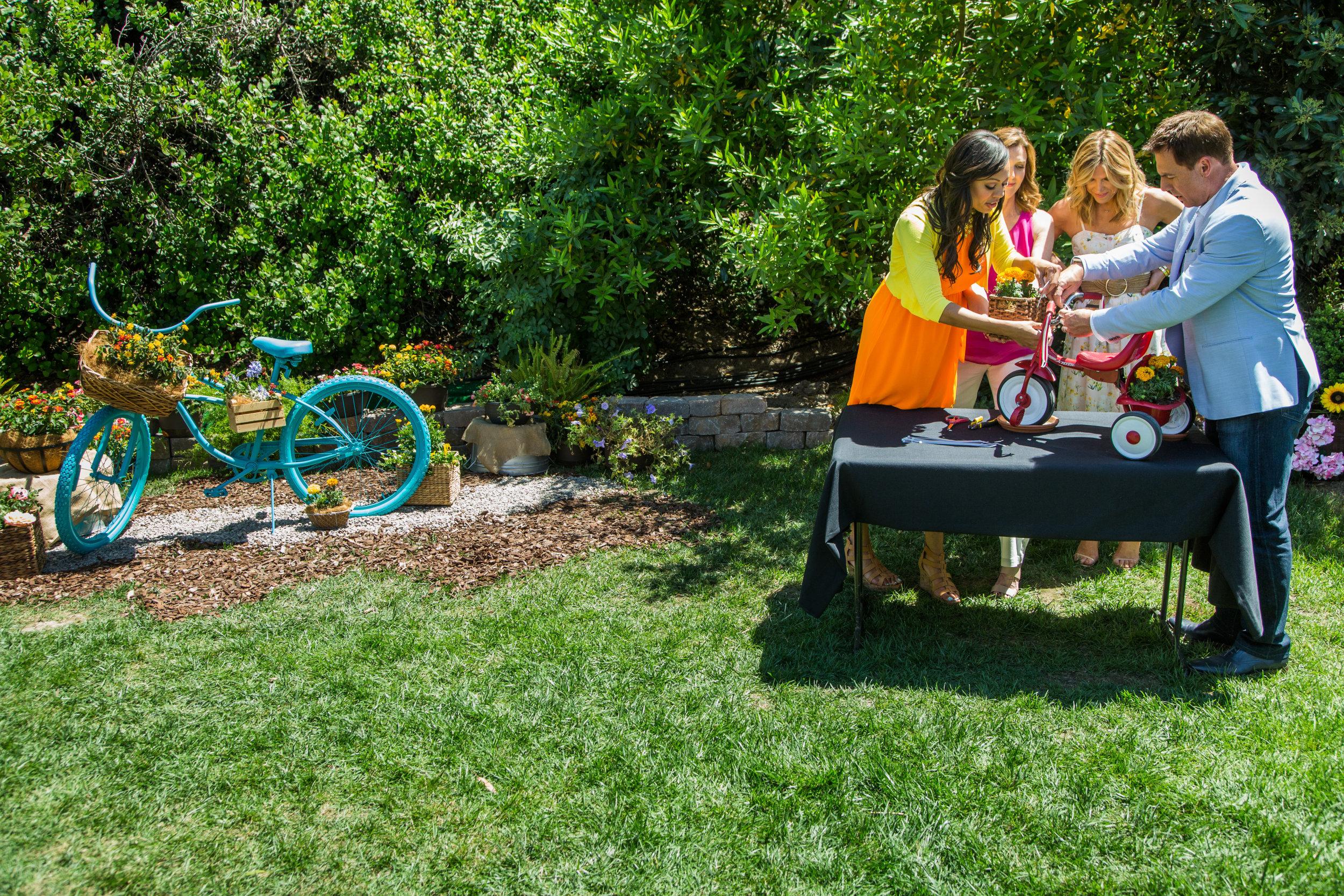 Diy Trike And Bike Garden Home Family Video