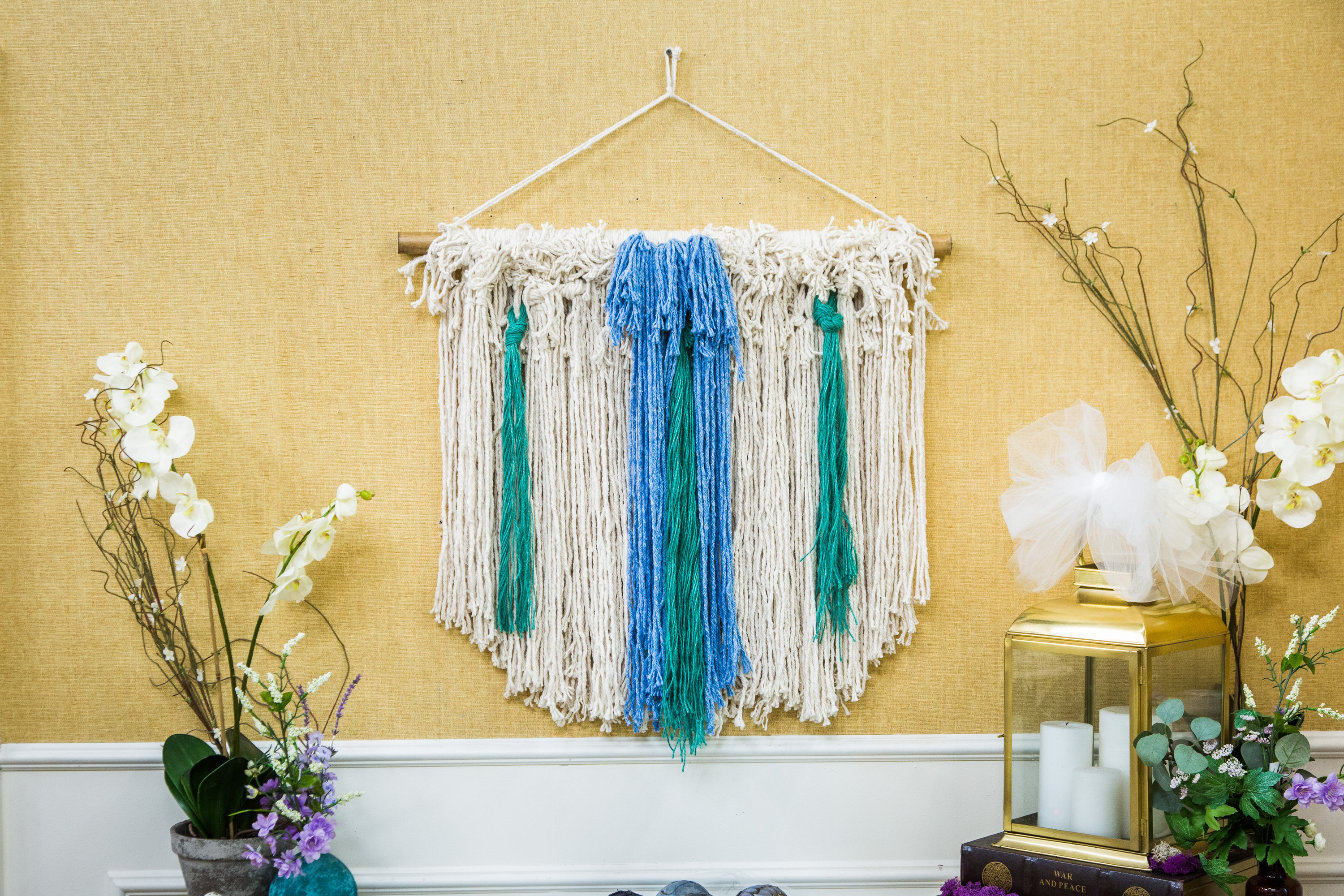 How To - DIY Woven Wall Art   Hallmark Channel