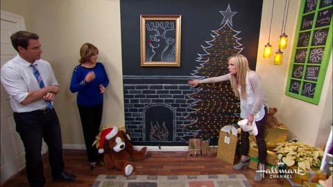 Jessie Christmas.Jessie Jane S Diy Chalkboard Christmas Tree Home Family