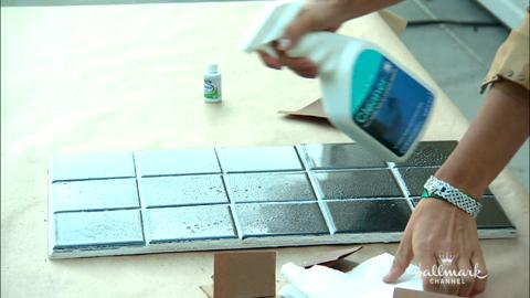 How To Paint Your Shower Tiles with Tanya Memme | Hallmark