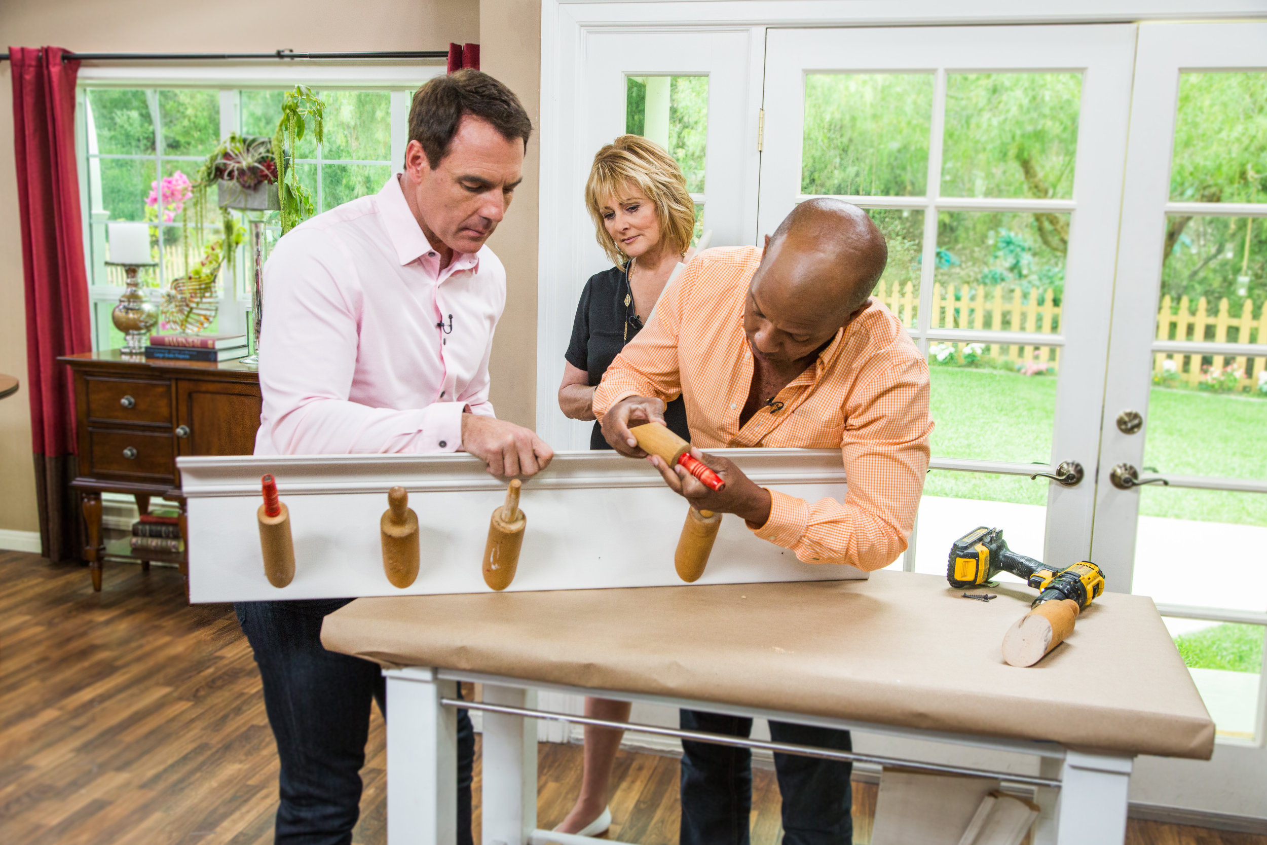 Do It Yourself Rolling Pin Rack - Home & Family - Video | Hallmark