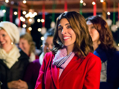 The Christmas Note.Celebrity Moments The Christmas Note Star Jamie Lynn Sigler