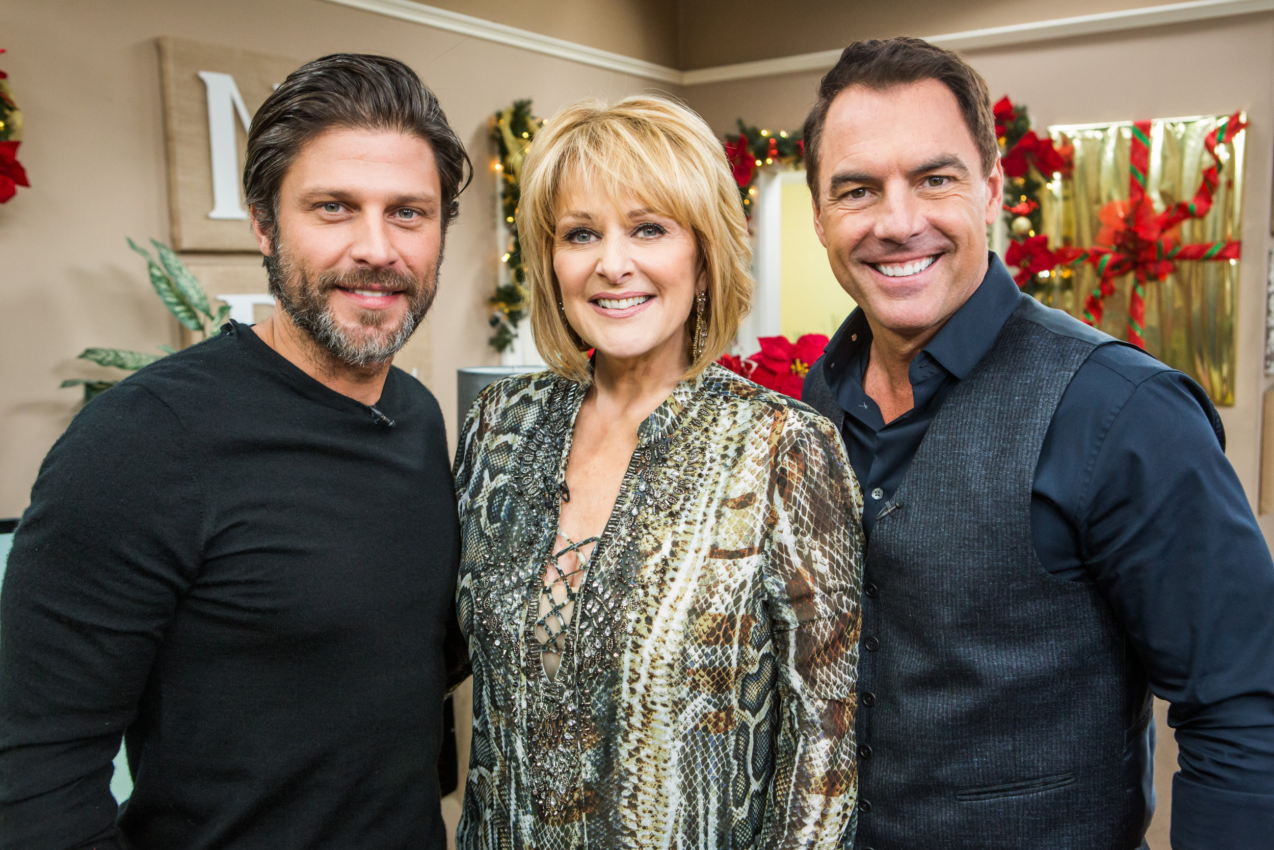 The Christmas Note.Greg Vaughan Interview Home Family Video Hallmark