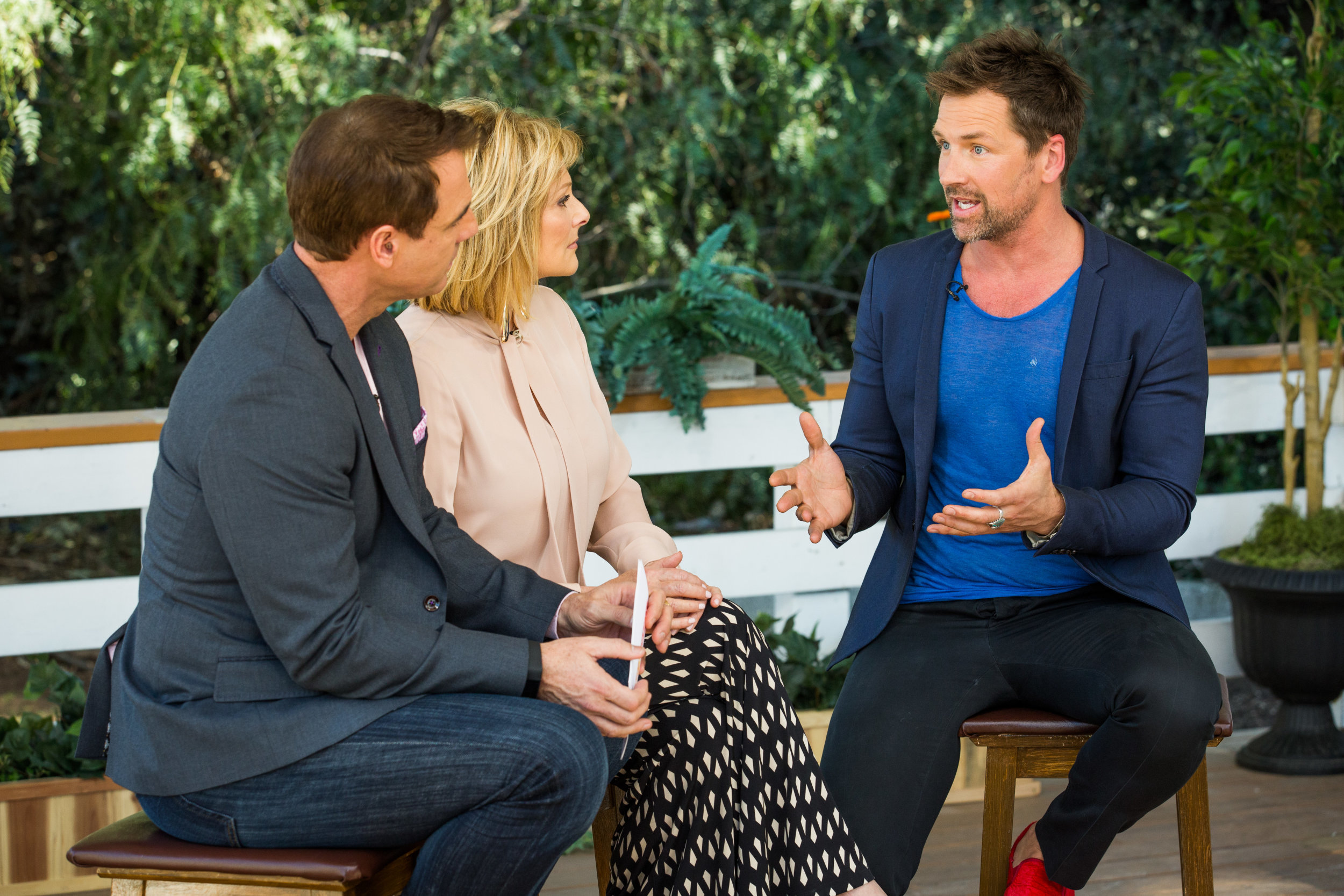 Paul Greene Interview Home Family Video Hallmark Channel