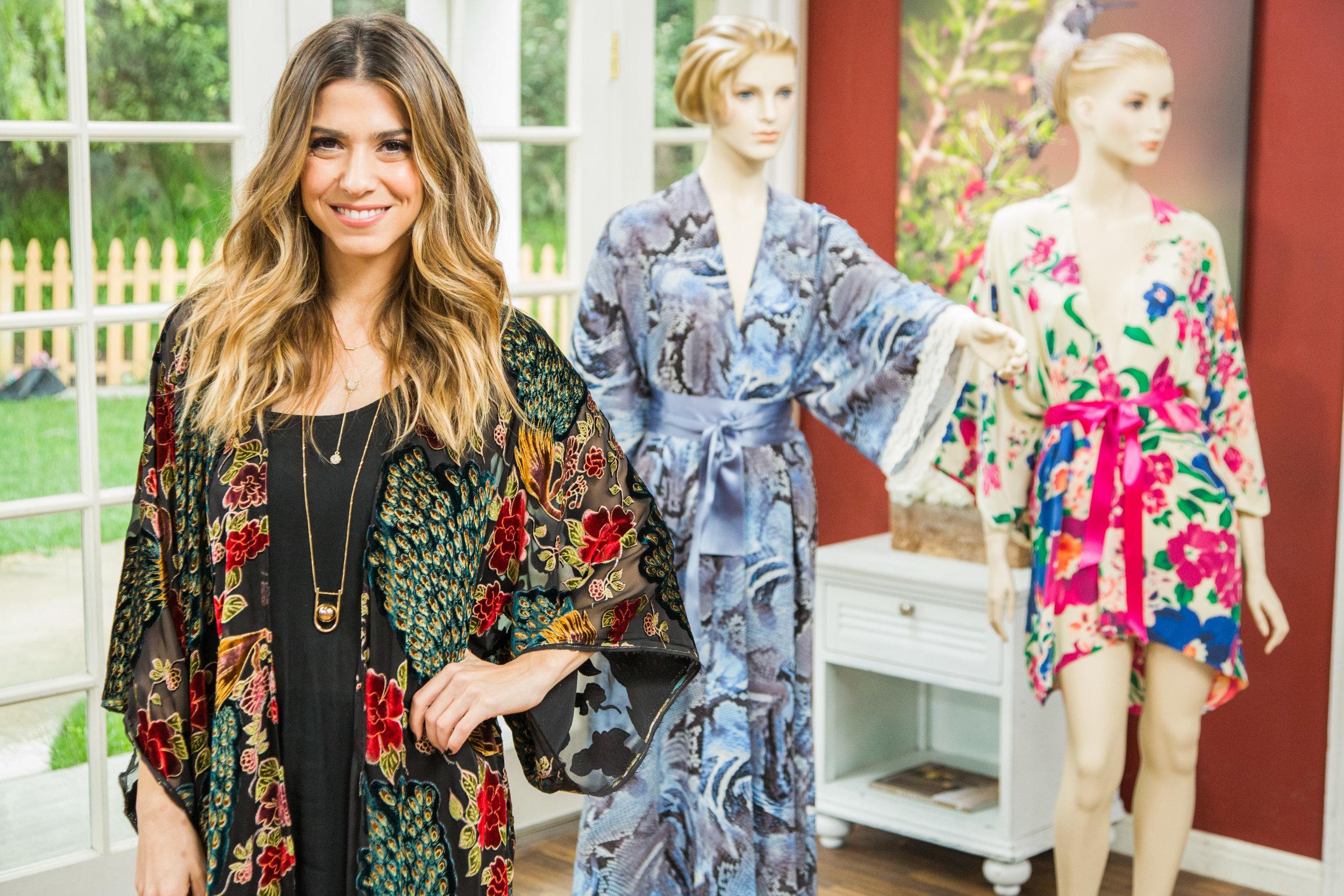 Orly Shani S Diy Kimono Robe Home Amp Family Video