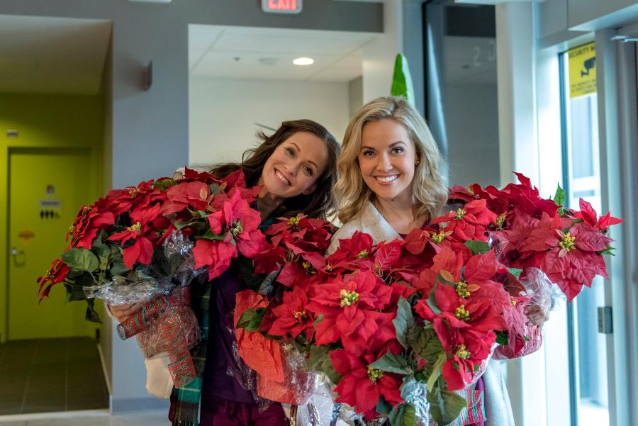 Hearts Of Christmas.On Location Hearts Of Christmas Hallmark Movies And
