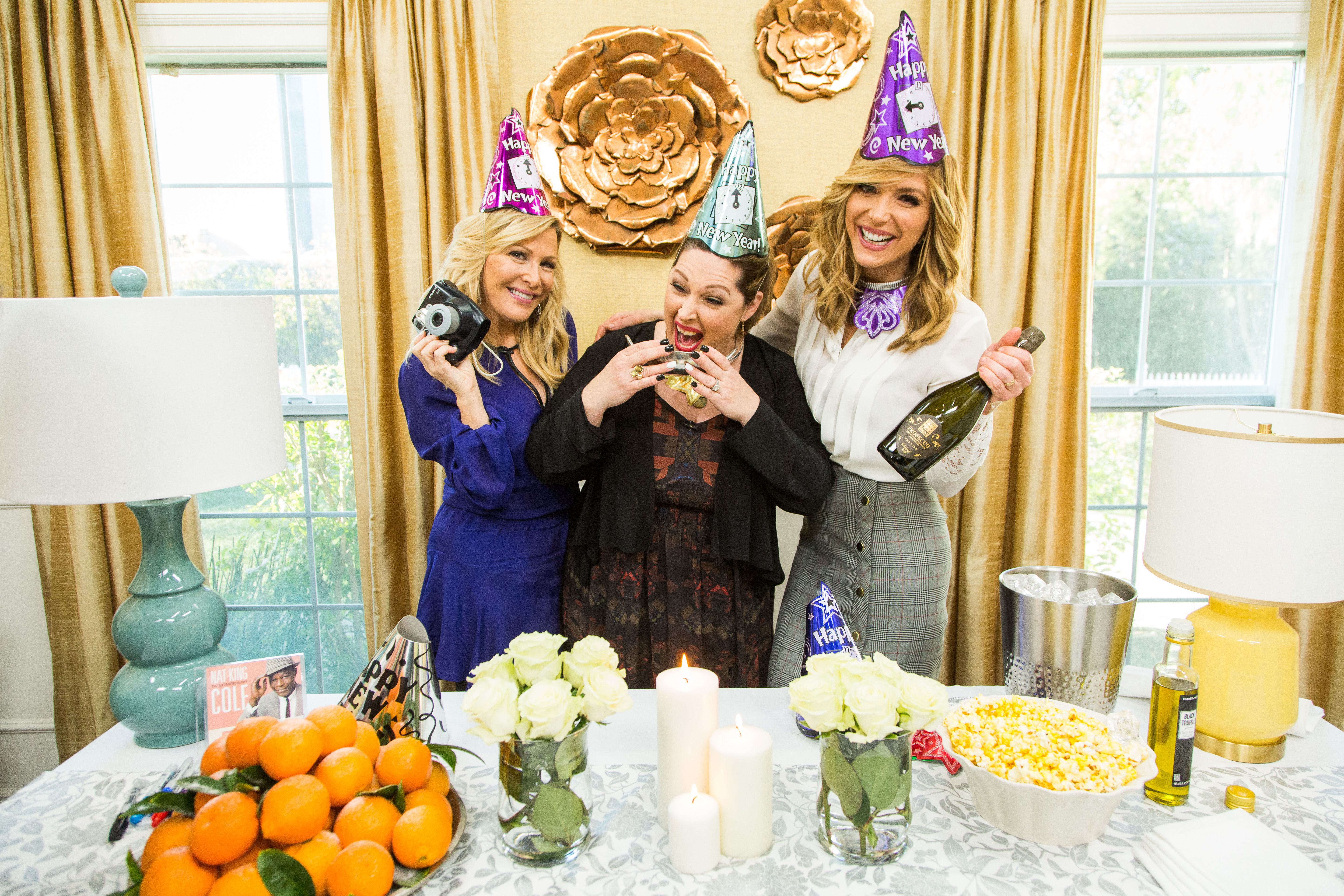 Last-Minute New Year's Eve Party - Home & Family ...