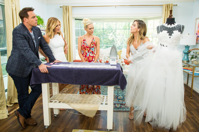 Diy Wedding Dress.Diy Detachable Wedding Dress Skirt Home Family Video