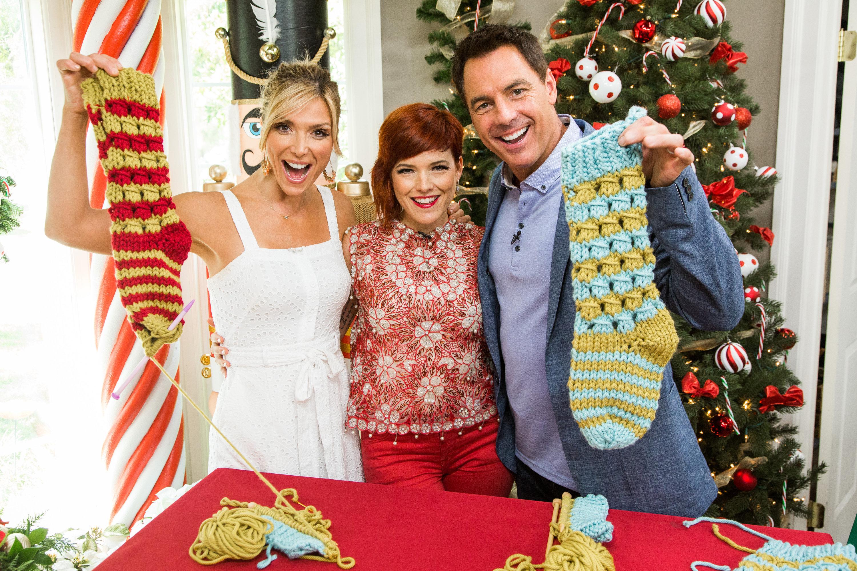 Christmas Stockings Diy.Diy Knitted Christmas Stockings Home Family Video