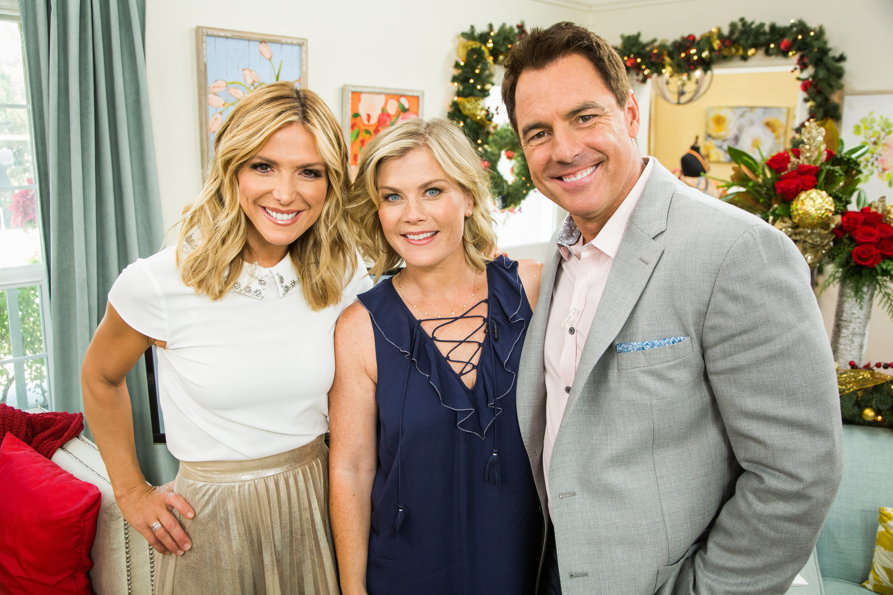 Alison Sweeney Family Pictures alison sweeney talks holidays - home & family - video