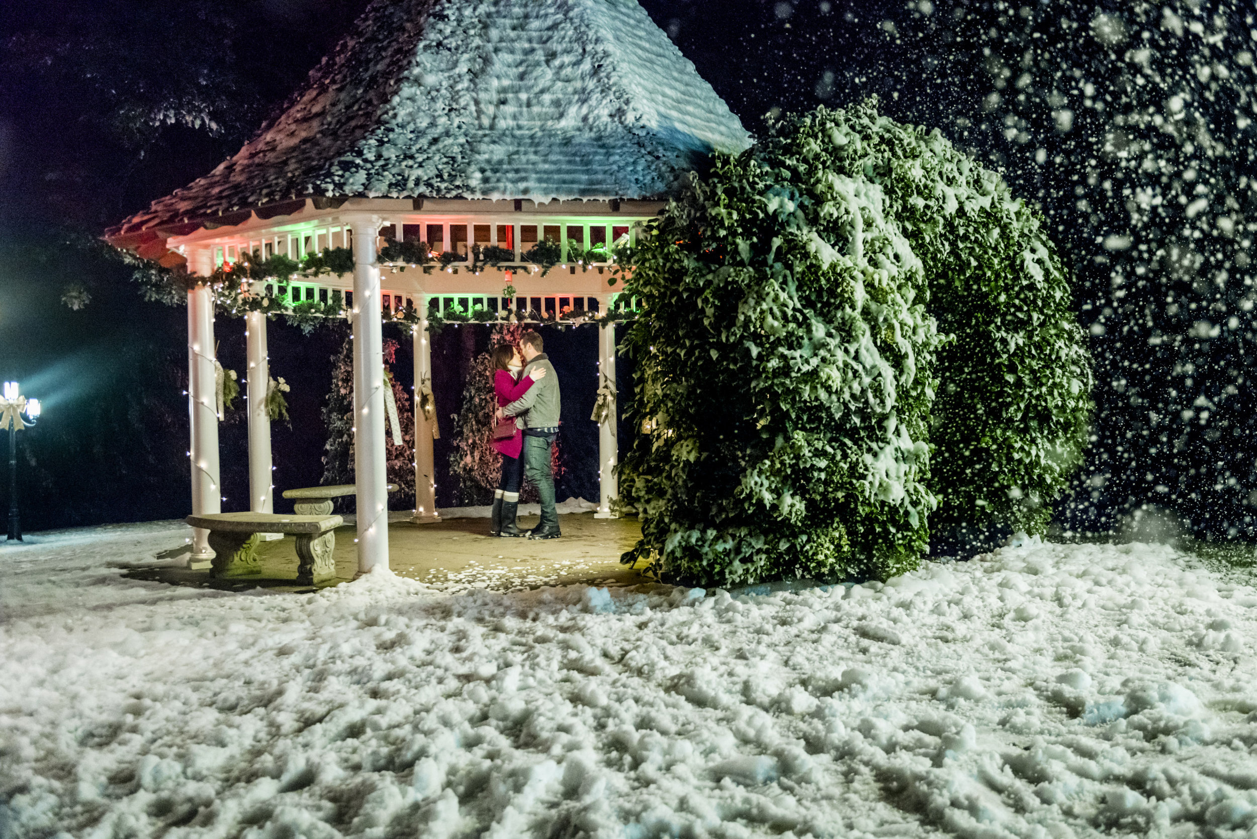 On Location - Engaging Father Christmas | Hallmark Movies and Mysteries