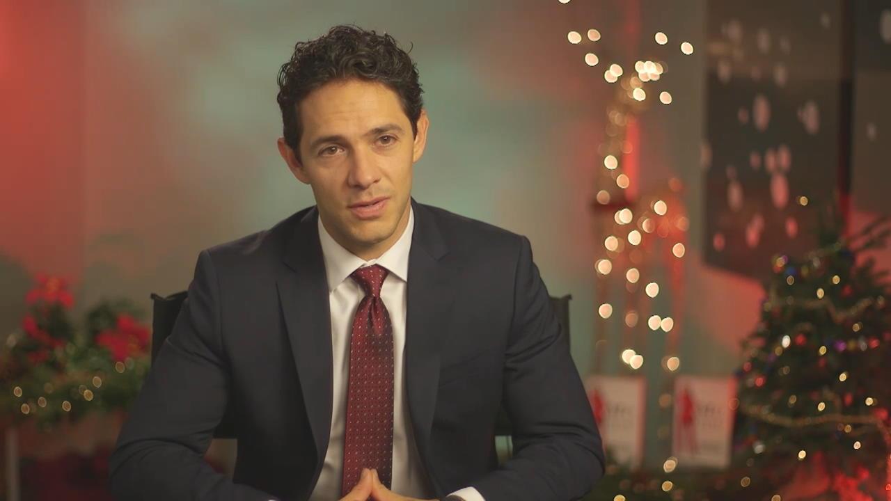 A Joyous Christmas 2019 Interview   A Joyous Christmas   Michael Rady on the Movie