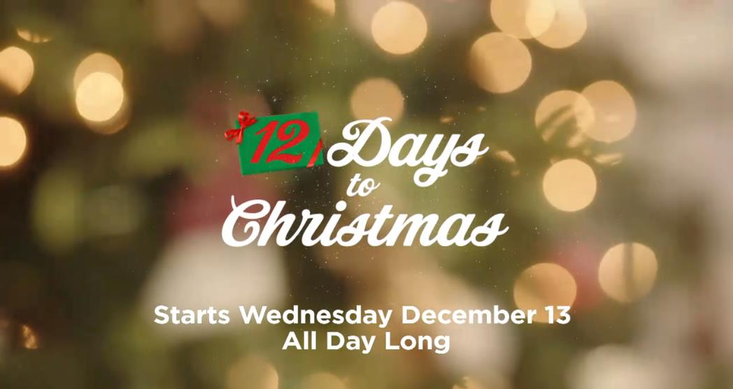 Days To Christmas.12 Days To Christmas Starts December 13 Hallmark Channel