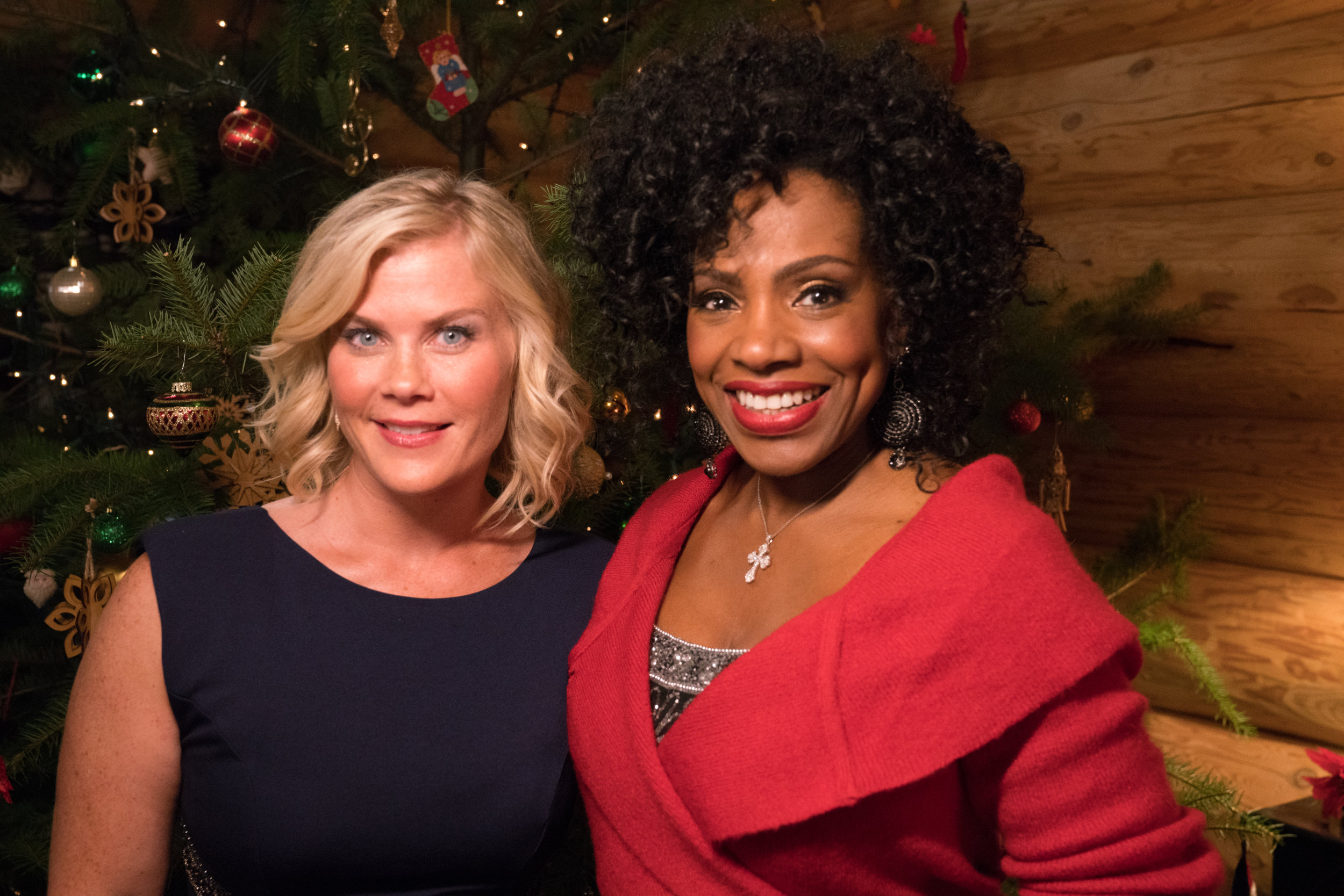 Christmas With Holly.Cast Interviews Working With Her Co Stars Christmas At