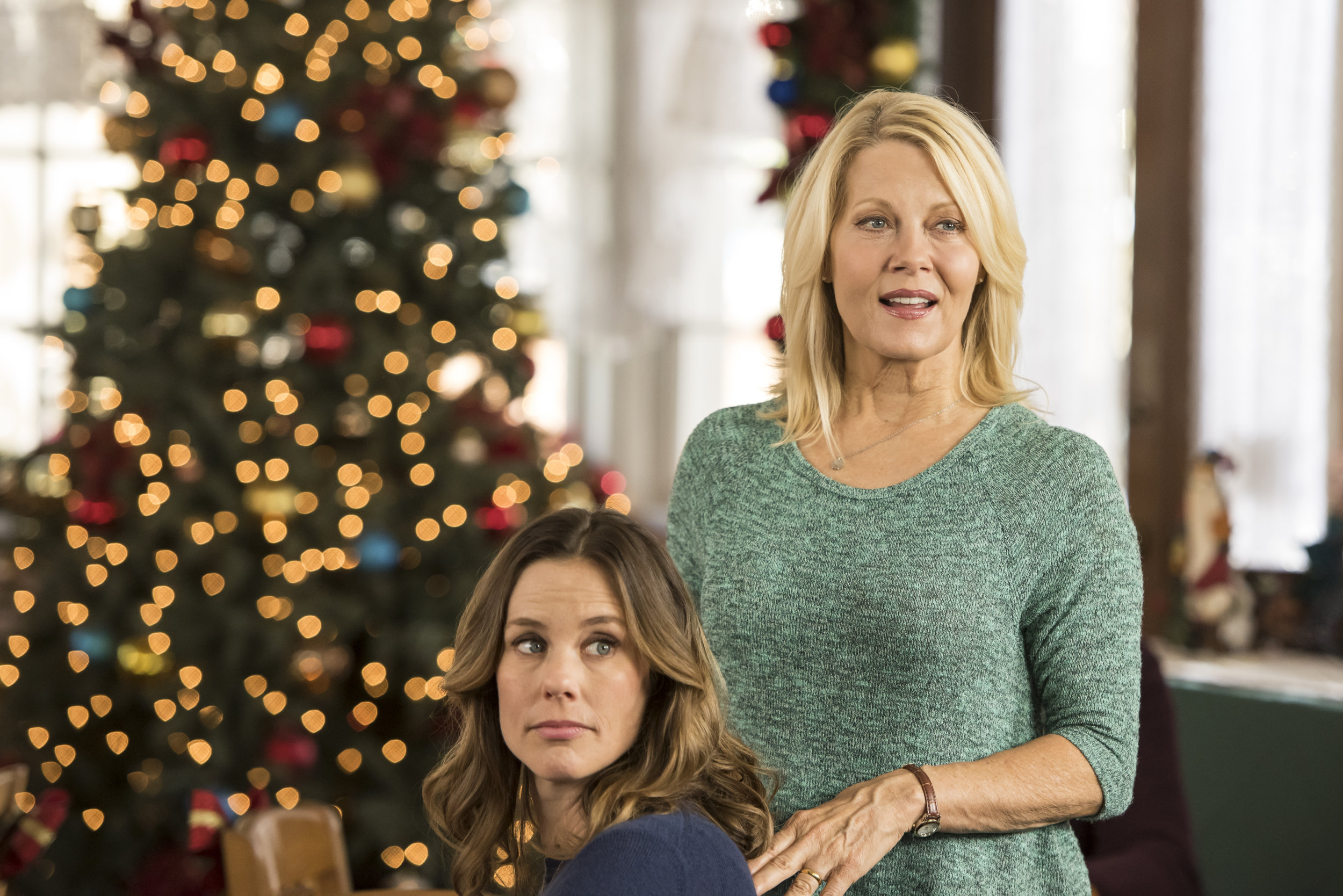 Christmas In Evergreen Hallmark.Cast Interviews Working With Barbara Niven Christmas In