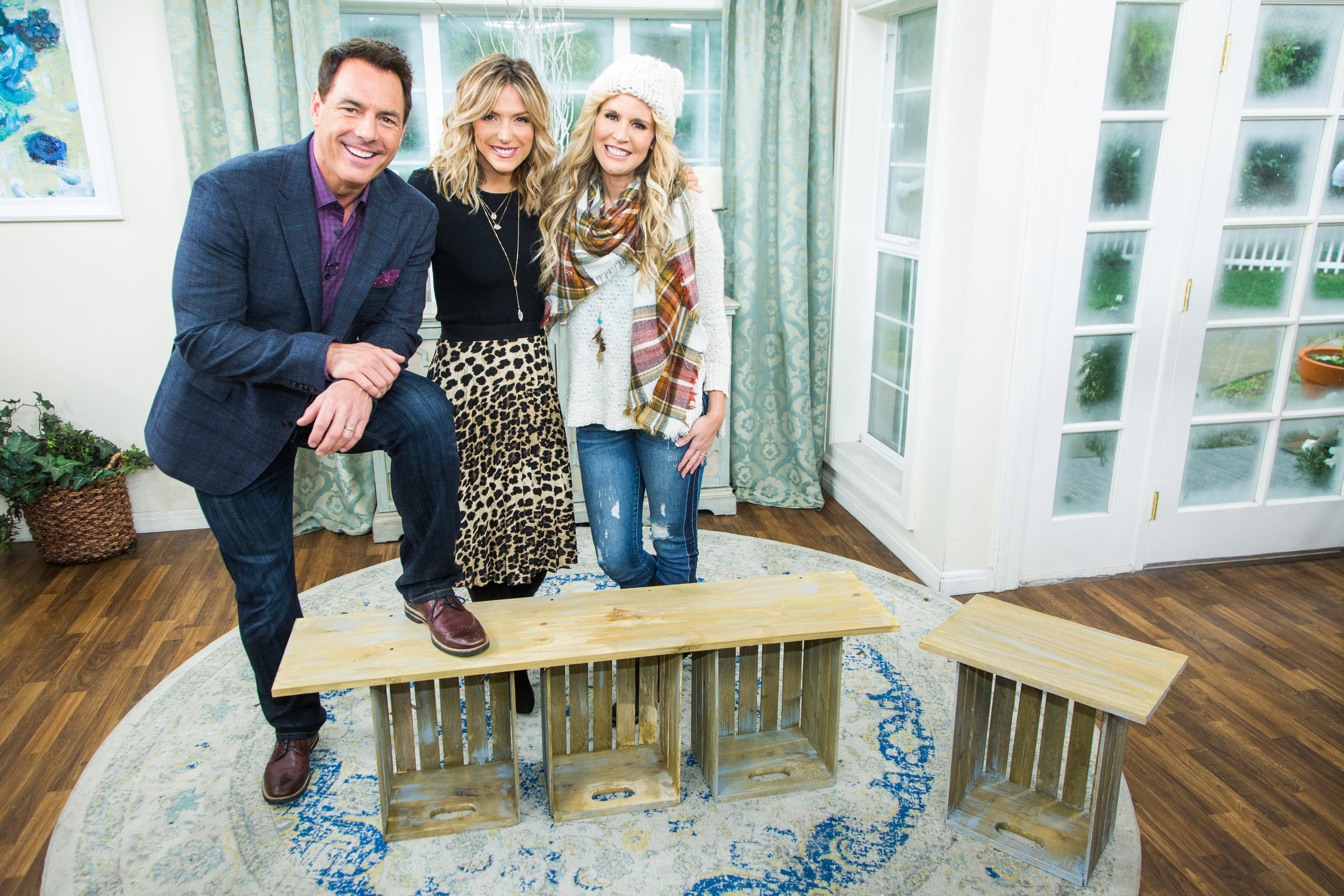 Diy Crate Bench Home Family Video Hallmark Channel