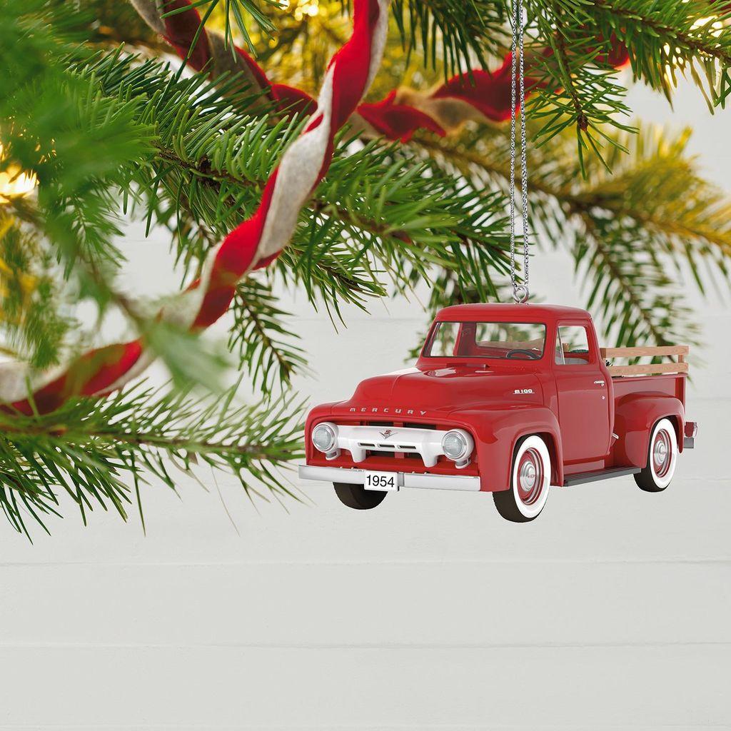 Keepsake Ornament Giveaway - 1954 Mercury M-100 - Home