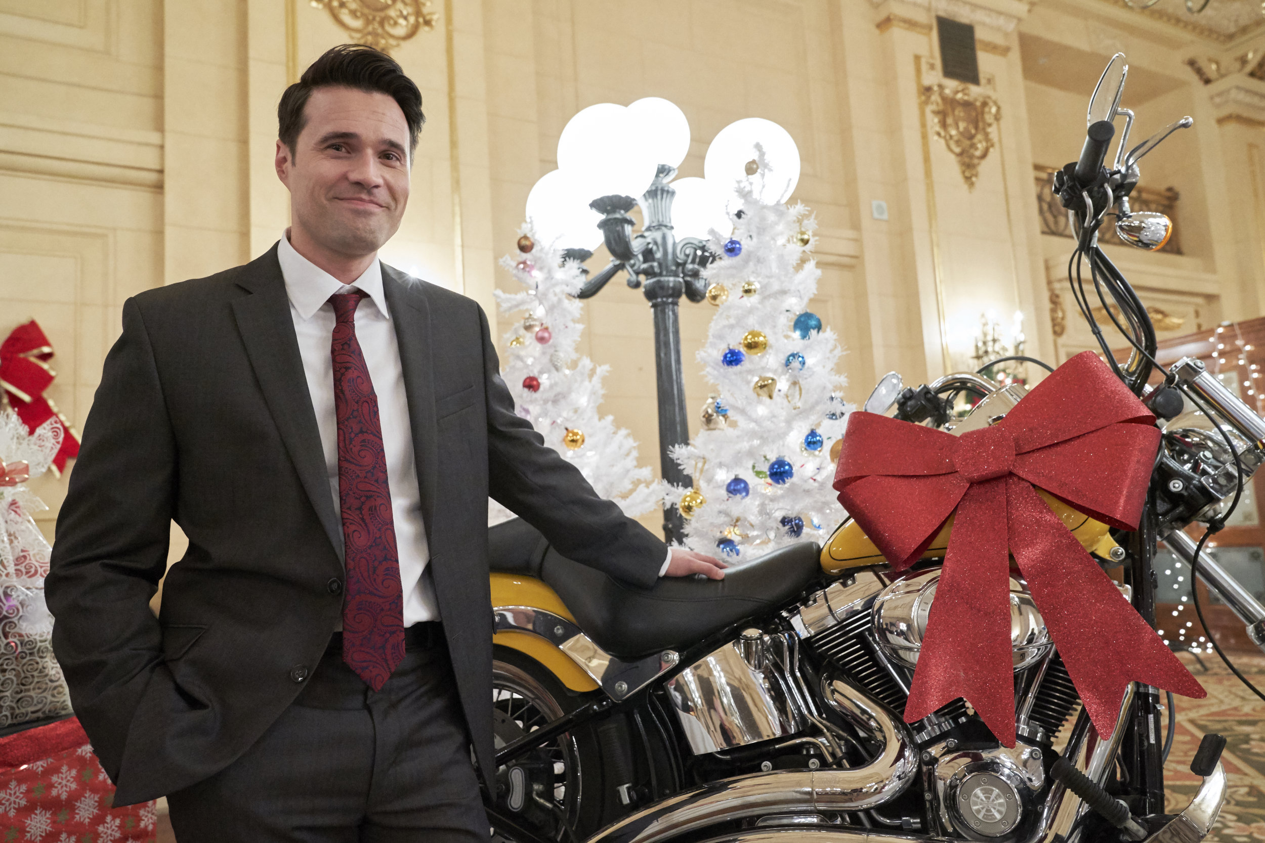 Once Upon A Christmas Miracle.Interviews Brett Dalton On His Character Once Upon A
