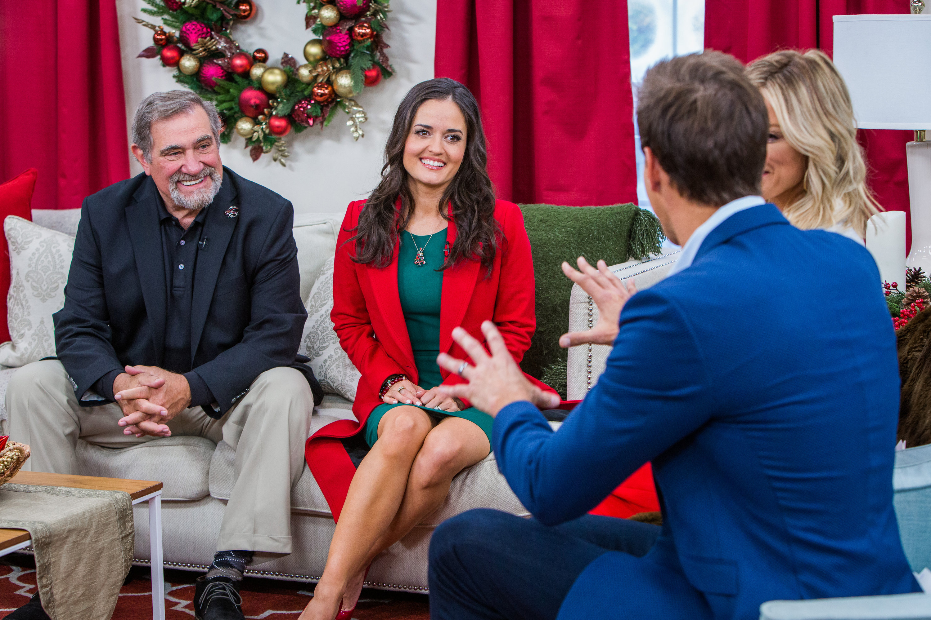 Christmas At Grand Valley.Dan Lauria And Danica Mckellar Home Family Video
