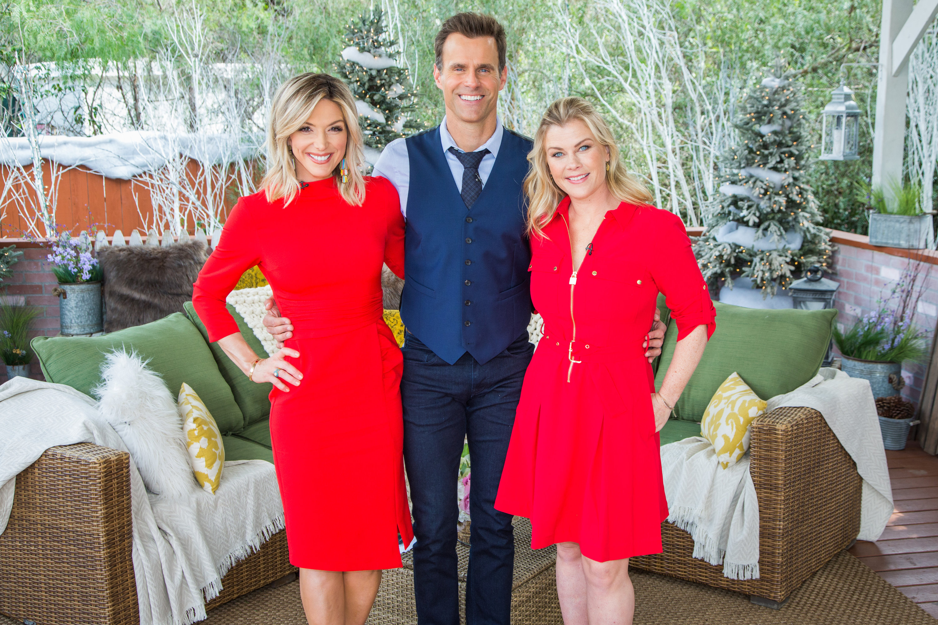 Alison Sweeney Family Pictures alison sweeney talks about her new movie - home & family
