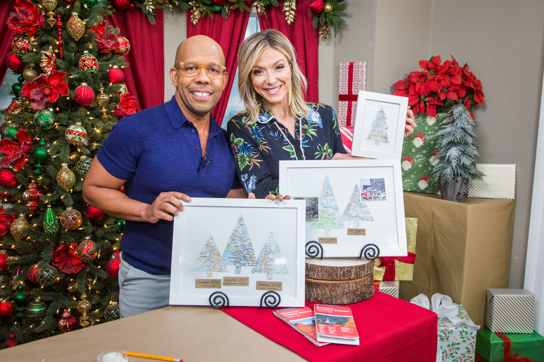 Christmas In Savannah Georgia 2019.Diy Christmas Tree Maps Home Family Video Hallmark