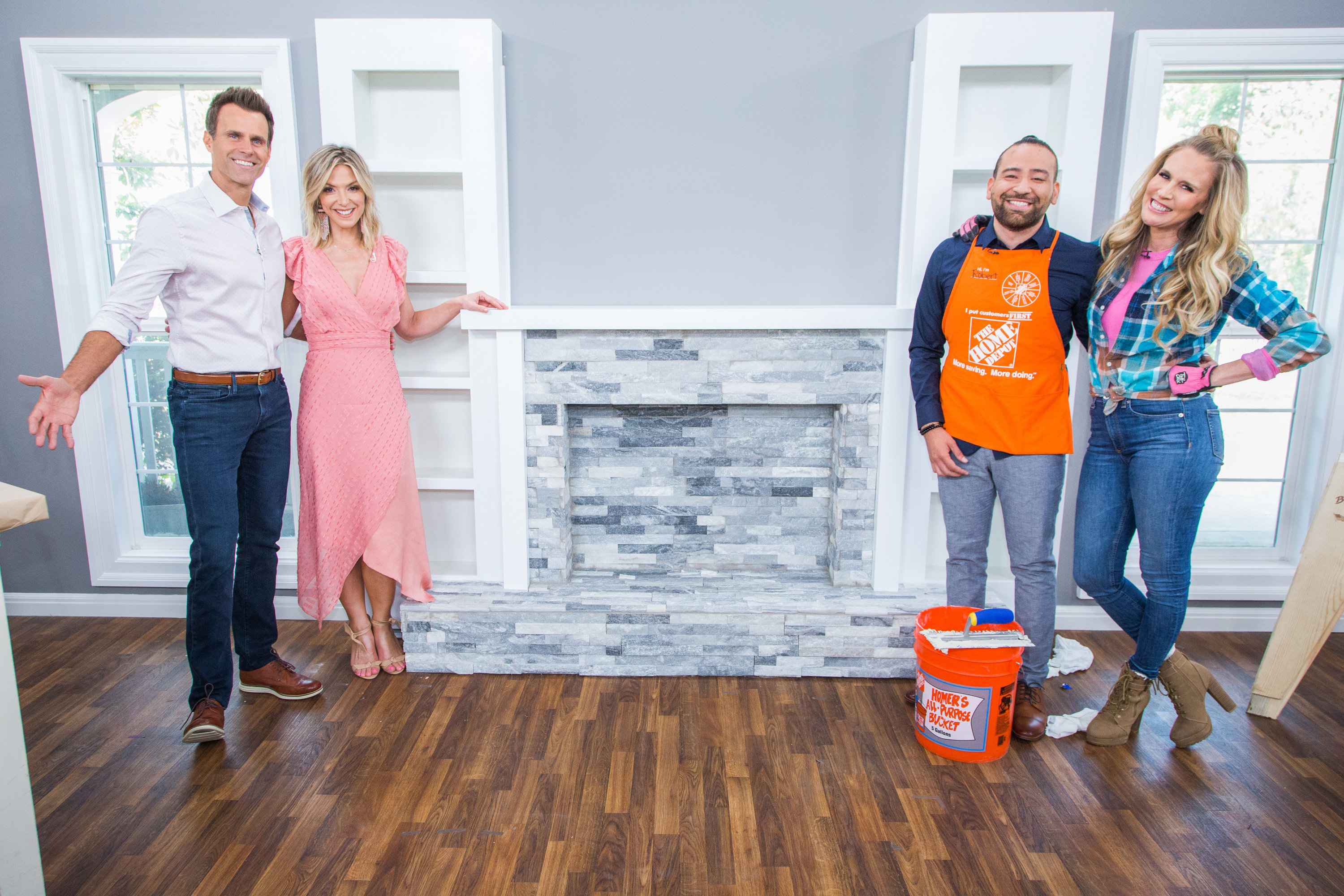 Re Tiling Your Fireplace Renovation Fever Home Family