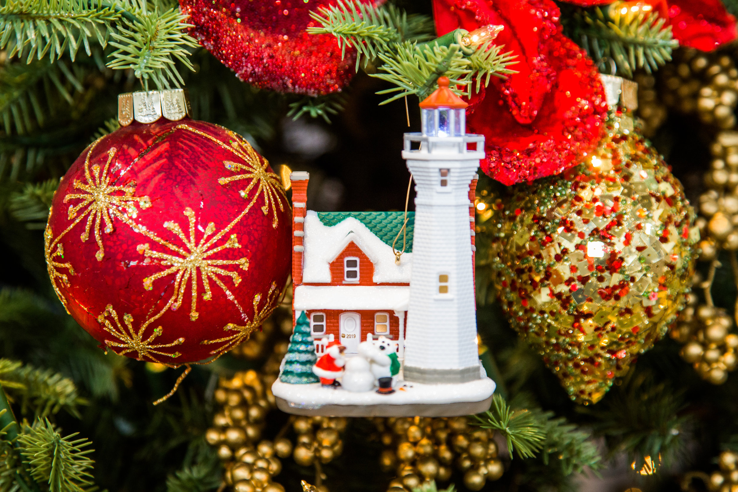 Hallmark Christmas In July 2019 Ornaments.Keepsake Ornament Giveaway Holiday Lighthouse Home