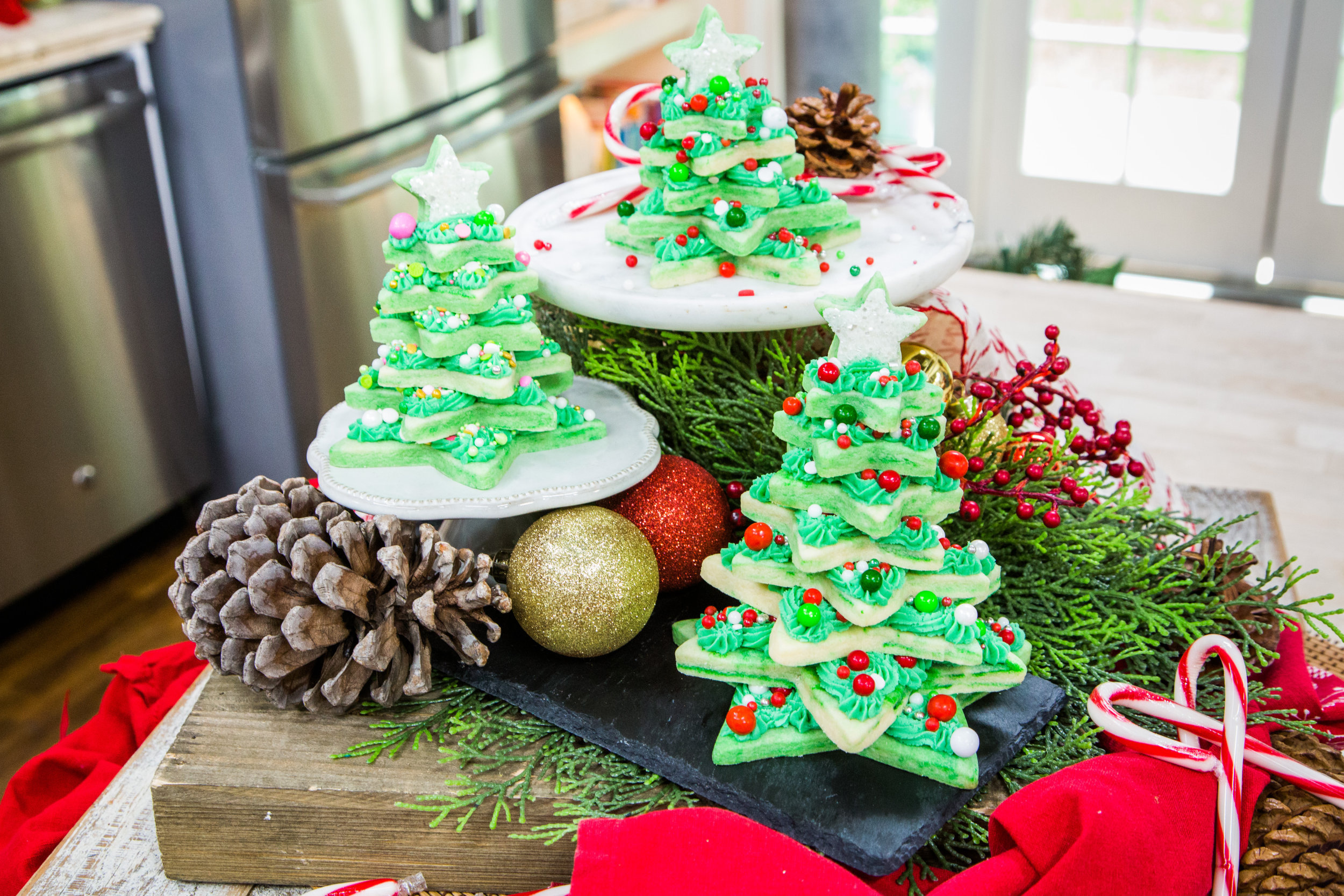 Cookie Christmas Trees - Home & Family | Hallmark Channel