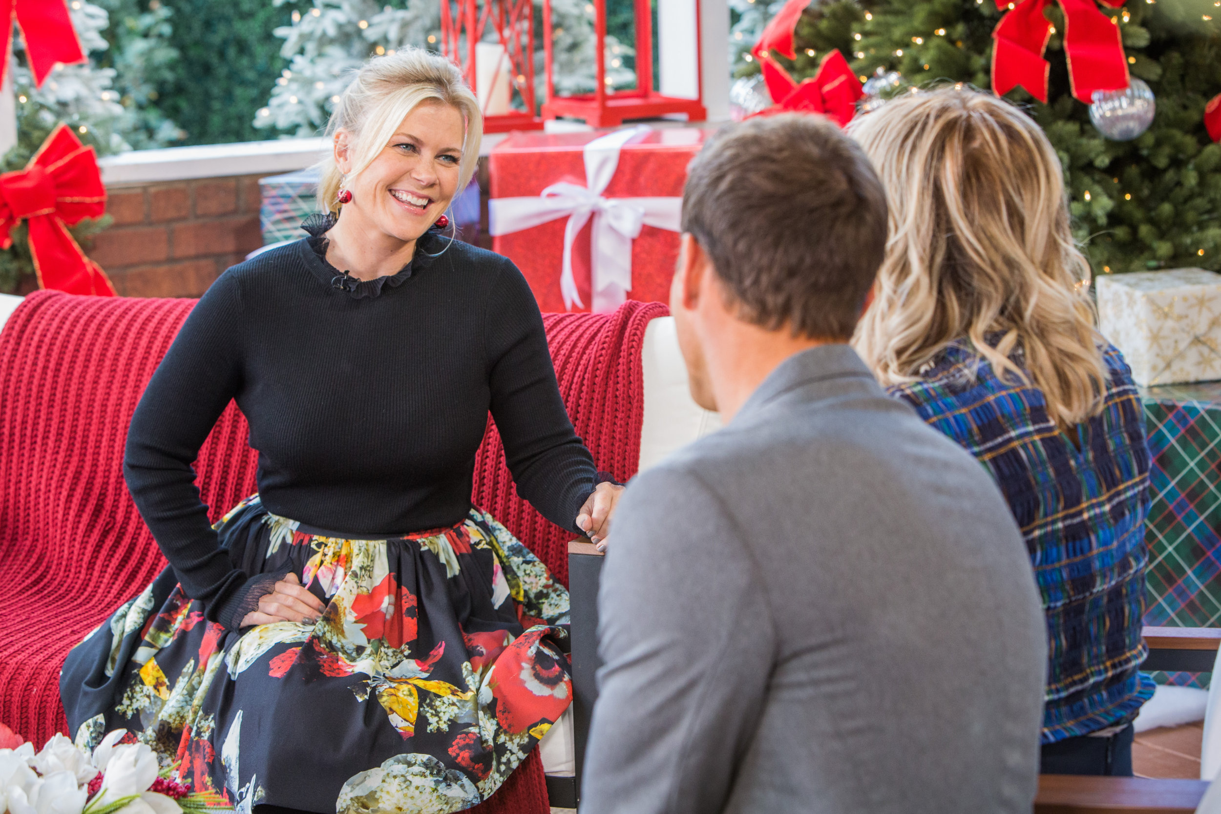 Alison Sweeney Family Pictures alison sweeney interview - home & family   hallmark channel